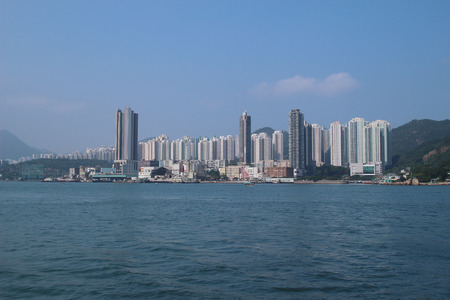 the housing in Yau Tong ,Hong Kong