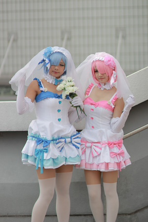 Cosplay from the japan animation and video game