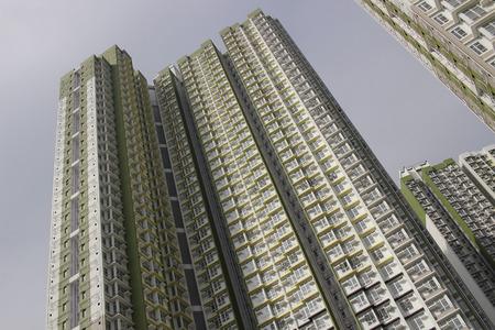 public housing: the hk On Tat Estate at 2016