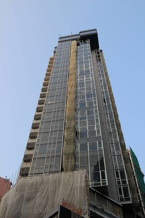 public housing: the Hong Kong public housing apartment Stock Photo