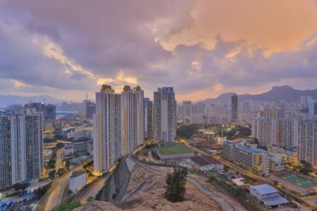 kowloon: Jordan Valley ,Ping Shan view of kowloon 2016