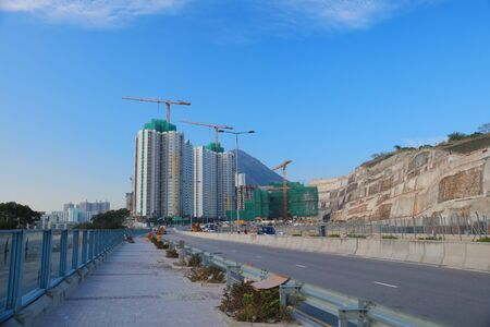 the On Tai Estate at under construction at 2016