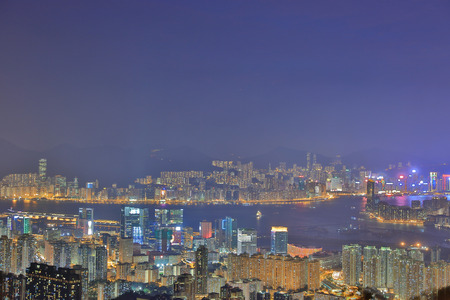 from kowloon peak view of kowloon 2016