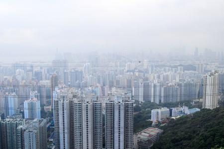 kowloon: the Tsz Wan Shan  view of kowloon
