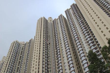 public housing: the Tsz  hong Estate at hk 2016