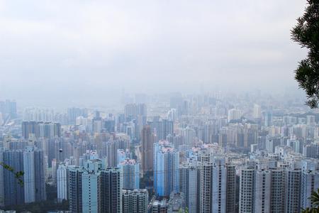the Tsz Wan Shan  view of kowloon