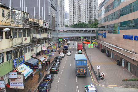 ave: the  San Fung Ave, Sheung Shui 2017