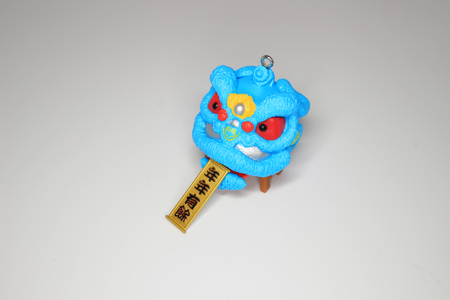 the Lunar new year figure of toy