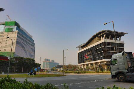 the Modern housing apartment building hk