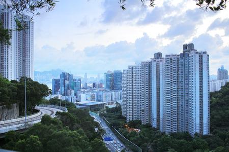 the view of   lam tin hk at 2016