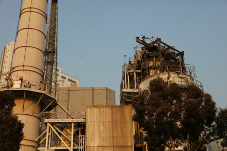 destilacion: Oil and gas industry at tsing Yi hk