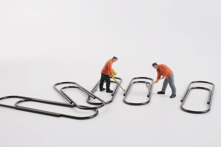 the color and fun of the paper clip