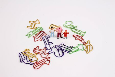 the fun of figure with paper clip