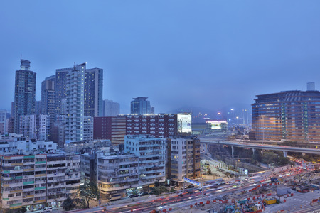 residential area: Ho Man Tin with 12 Hill  at hk Editorial