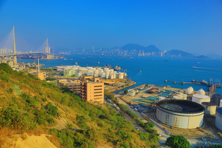 the Nam Wan Kok Tsing Yi  at 2017 Stock Photo