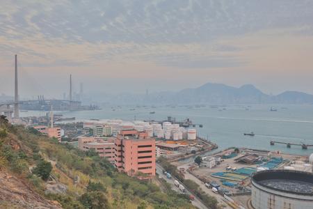 the Nam Wan Kok Tsing Yi  at 2017 Stock Photo