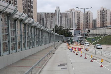 view of Kwun Tong Bypass, Kwun Tong 2017 Editorial