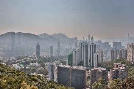 the Mount Butler view of hong kong 2017 Editorial