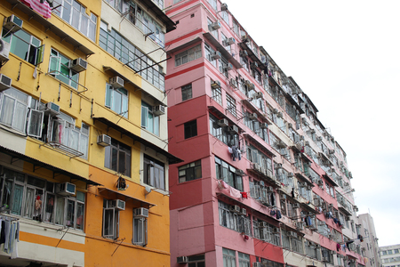 the Ma Tau Kok kowloon city district Stock Photo