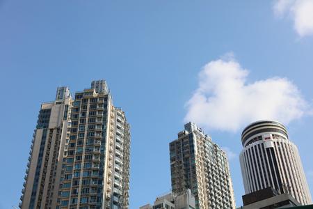 Hong Kong Island at the Wan Chai District. Hong Kong