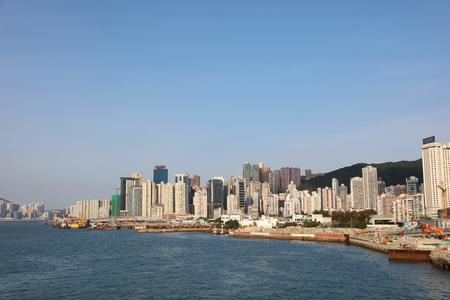 inlet bay: the coastline of causeway bay hk 2017