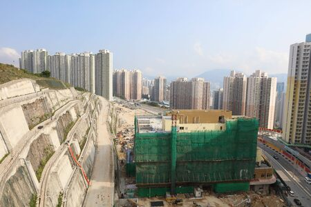 the Housing estate of On Tai Estate at 2017 Editorial