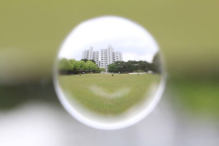 the filter of soratama with  fish eye lens with hkust