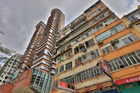 public housing: the tong lau at Shan Tung Street,mong kok