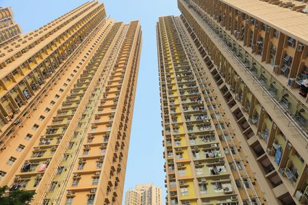 yat: public apartment block in Hong Kong ,Yat Tung Estate
