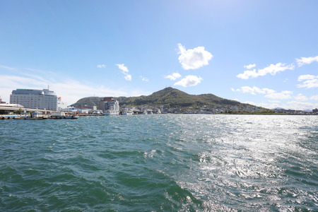 bay area in Hakodate city is the southernmost port city of Hokkaido