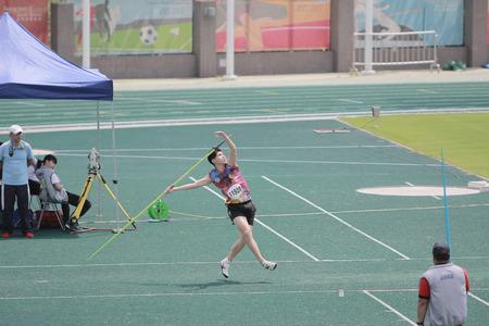 lanzamiento de jabalina: The 6th Hong Kong Games at tko sport Ground 2017
