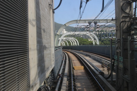 industrial district: subway South Island Line open at 2016