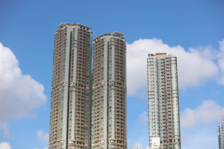 po: the Residential  building at Kennedy Town hk
