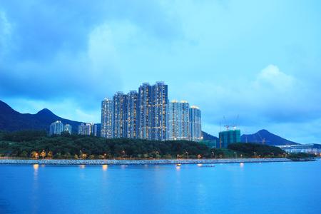 estate: the Junk Bay, Tseung Kwan O bay 2017 Stock Photo