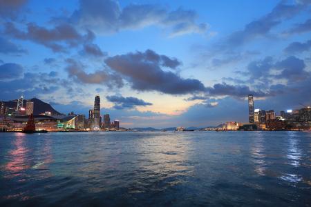 the gateway of Skyline of Hong Kong 2017