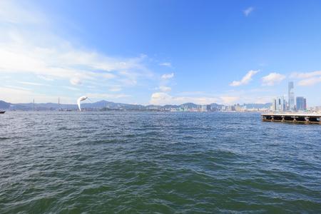 junk: the View of Belcher Bay, hong kong 2017