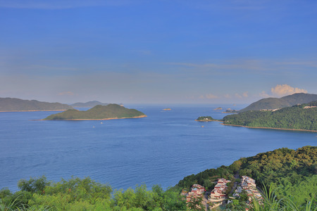 sumptuousness: the area of Silverstrand of sai kung hk