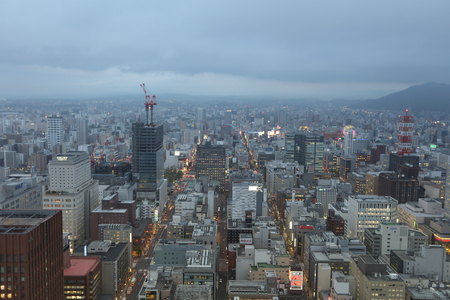 one of the most popular tourist destinations in Sapporo, Hokkaido