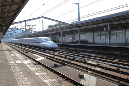 Series Shinkansen high-speed bullet train 2016