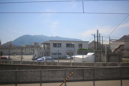 the train view of sanyo main line