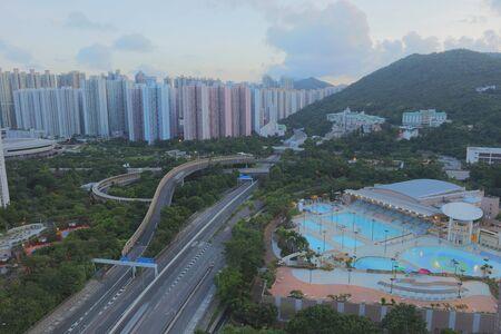 the New town of Hongkong, Tseung Kwan O Stock Photo