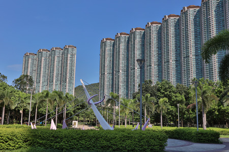clase media: the middle class apartment Tung Chung district,hk