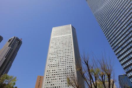Office buildings at Shinjuku, Tokyo on 2016