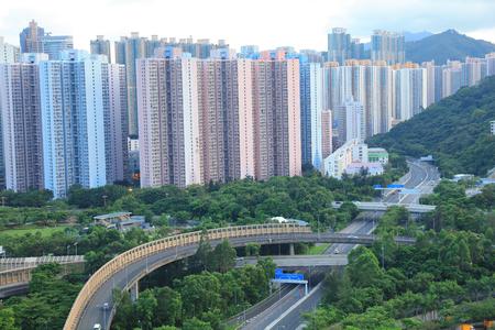the New town of Hong kong, Tseung Kwan O