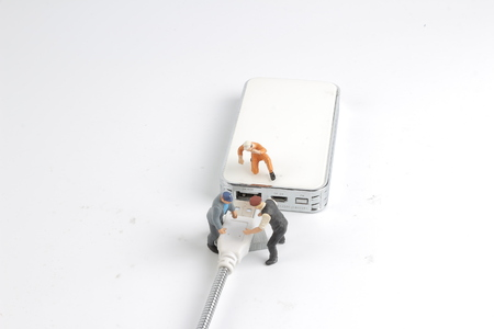 the mini engineer and worker plugin USB power