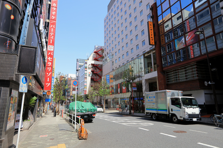 the Shinjuku is the most famous shopping area of Tokyo
