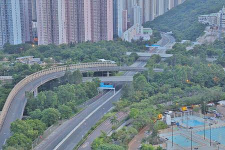 the New town of Hongkong, Tseung Kwan O Editorial