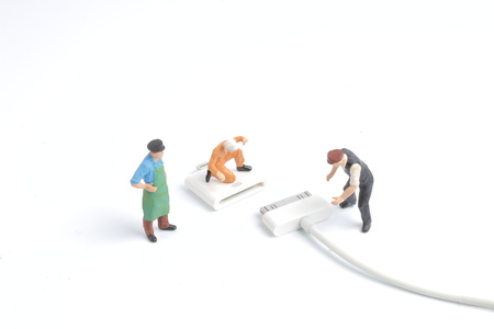 the mini engineer and worker plugin USB port