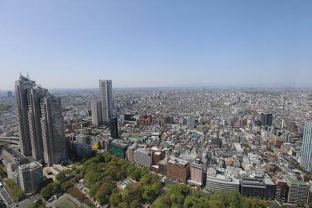 city scape at tokyo at japan 2016