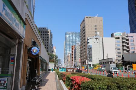 street at Shinjuku, a major commercial and administrative center